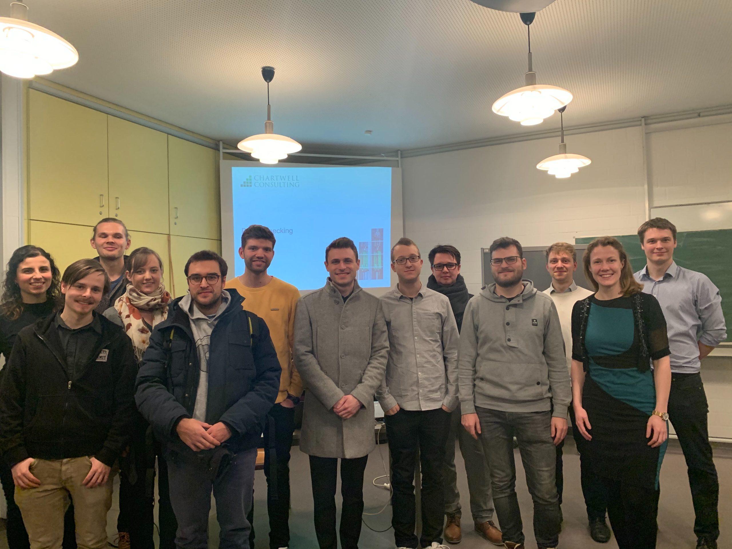 Teilnahme Chartwell Consulting Debottlenecking Workshop in Karlsruhe